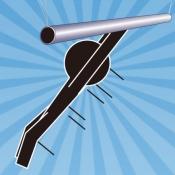 iPhone、iPadアプリ「棒人間の大車輪」のアイコン