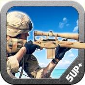 iPhone、iPadアプリ「無人島スナイパー戦場無料」のアイコン