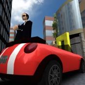 iPhone、iPadアプリ「馬場タクシー3D: 人手が足りません!」のアイコン