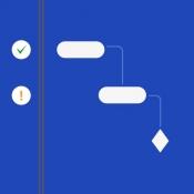 iPhone、iPadアプリ「QuickPlan - Project Gantt Plan」のアイコン