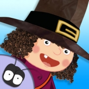 iPhone、iPadアプリ「The Little Witch at School」のアイコン