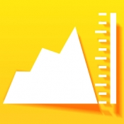 iPhone、iPadアプリ「スケスケ高度計」のアイコン