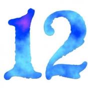 iPhone、iPadアプリ「『12』 〜12個のパネルを指示の通りに順番にタッチしていく、シンプルな脳トレ Touch the Numbers アプリ〜 2013年12月中に全ステージクリアしてプレゼントをGetしよう!」のアイコン