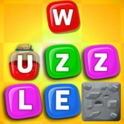 iPhone、iPadアプリ「Wuzzle: Words with color match game to play with letters in a new original way incuding awsome wordsearch, anagrams and good edu」のアイコン