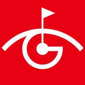 iPhone、iPadアプリ「ゴルフ GPSナビ・ゴルフ場GPSナビのスマートゴルフナビ」のアイコン