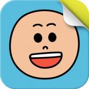 iPhone、iPadアプリ「いろんなかお」のアイコン
