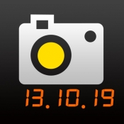 iPhone、iPadアプリ「日付onカメラ Lite -写真&動画-」のアイコン