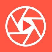 iPhone、iPadアプリ「セツナカメラ 動画と写真の同時録り! ~料理/子供/ペット/集合写真/風景のベストショットを撮るための消音ビデオ&カメラアプリ~」のアイコン