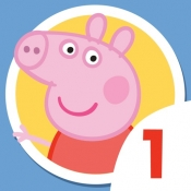 iPhone、iPadアプリ「Peppa Pig 1 ▶ Videos for kids」のアイコン