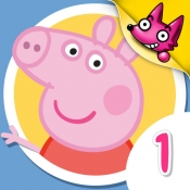 iPhone、iPadアプリ「Peppa Pig 1 ▶ Animated TV Series」のアイコン