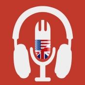 iPhone、iPadアプリ「英語ラジオ - アイエルツ トーフル」のアイコン