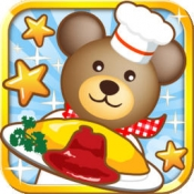 iPhone、iPadアプリ「クマ's キッチン!」のアイコン