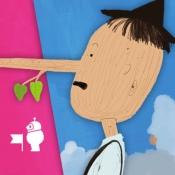 iPhone、iPadアプリ「ピノキオ - Pink Paw Books インタラクティブ名作童話シリーズ」のアイコン