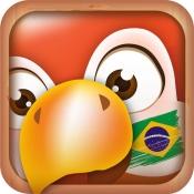 iPhone、iPadアプリ「ポルトガル語を学ぼう」のアイコン