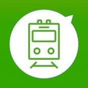 iPhone、iPadアプリ「駅どっち」のアイコン