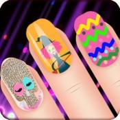 iPhone、iPadアプリ「アートネイルサロン:ハッピーホリデーフリードレスアップゲーム」のアイコン