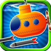 iPhone、iPadアプリ「プロの海底のシューティング ゲーム - A Submarine Shooter Pro Game」のアイコン