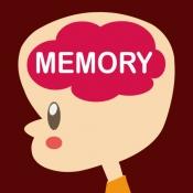 iPhone、iPadアプリ「記憶力!特訓!みんなの記憶力」のアイコン