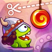 iPhone、iPadアプリ「Cut the Rope: Time Travel™」のアイコン
