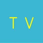 iPhone、iPadアプリ「超見やすいテレビ番組表」のアイコン