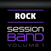iPhone、iPadアプリ「SessionBand Rock - Volume 1」のアイコン