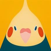 iPhone、iPadアプリ「トリノイロ - 鳥壁紙メーカー」のアイコン