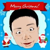 iPhone、iPadアプリ「Frame my photo: デジタルフォトフレーム、グリーティングカード。メリー·クリスマス!」のアイコン