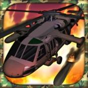 iPhone、iPadアプリ「A Chopper World War – Free Apache Helicopter War Game, ヘリコプターの世界戦争 - 無料のApacheの戦争ゲーム」のアイコン