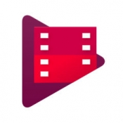 iPhone、iPadアプリ「Google Playムービー&TV」のアイコン