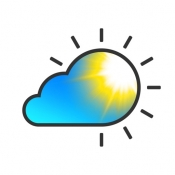 iPhone、iPadアプリ「気象ライブ - 地域の天気予報」のアイコン