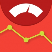 iPhone、iPadアプリ「体重記録帳 - 体重&体脂肪  記録ダイエット -」のアイコン