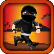 iPhone、iPadアプリ「Ninja Run - The Clumsy Mutant Kid」のアイコン
