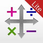 iPhone、iPadアプリ「フリック&クリップ Lite - 次世代電卓」のアイコン