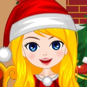 iPhone、iPadアプリ「Candy Christmas Girl」のアイコン