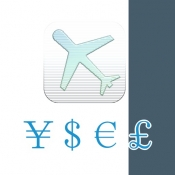 iPhone、iPadアプリ「旅行用-通貨両替電卓」のアイコン