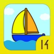 iPhone、iPadアプリ「子ども「ふね」パズル」のアイコン