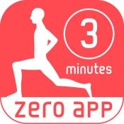 iPhone、iPadアプリ「3分フィットネス -簡単エクササイズ-」のアイコン