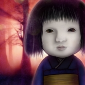 iPhone、iPadアプリ「育てて日本人形」のアイコン