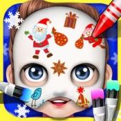 iPhone、iPadアプリ「ベビーフェイスアートペイント - 子供のゲーム」のアイコン