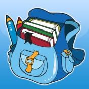 iPhone、iPadアプリ「塗り絵の本 子供のための学校:少女、鉛筆、鉛筆ケース、書籍、ランドセル、黒板、などのような多くの写真とともに。絵を描画する方法:幼稚園、幼稚園や保育園のために学習するゲー」のアイコン