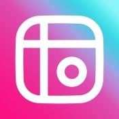 iPhone、iPadアプリ「写真加工 - 画像編集 - コラージュ - Mixgram」のアイコン