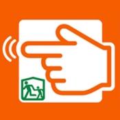 iPhone、iPadアプリ「避難所最新情報byみたチョ-電波が無くても避難誘導」のアイコン