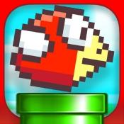 iPhone、iPadアプリ「Jumpy Red Bird - Tube Hopper」のアイコン