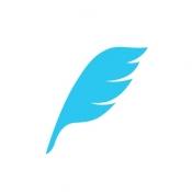 iPhone、iPadアプリ「feather for Twitter」のアイコン
