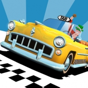 iPhone、iPadアプリ「Crazy Taxi™ City Rush」のアイコン