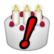 iPhone、iPadアプリ「By Birthday ~ 誕生日からわかること」のアイコン