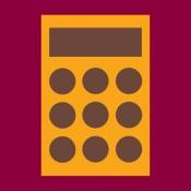 iPhone、iPadアプリ「延滞金と延滞税の計算」のアイコン