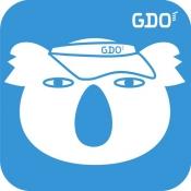 iPhone、iPadアプリ「GDOスコア-ゴルフのスコア管理 GPSマップで距離を計測」のアイコン