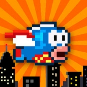 iPhone、iPadアプリ「Splashy Fish - The Adventure of a Flappy Tiny Bird Fish」のアイコン