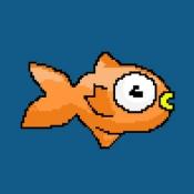 iPhone、iPadアプリ「Floppy Splashy Fish - Underwater Flappy Adventure」のアイコン